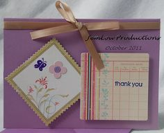Thank You Card by JemLouProductions on Etsy, $3.00