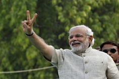 "NARENDRA Modi promised to work to ""fulfil the dreams of 1.2 billion people"" as he addressed cheering supporters for the first time today (16) after a landslide Indian election victory for his Bharatiya Janata Party (BJP).A sea of well-wishers from across his constituency of Vadodara in Gujarat turned out to hear the 63-year-old former tea boy who is poised to become prime minister of the world's second-most populous nation."