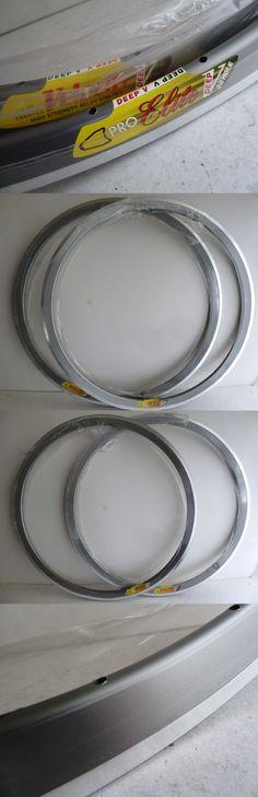 Rims 177821: Velocity Pro Elite 650C Rims, Pair, Grey, 28 Hole, Tubular, Msw, Deep V -> BUY IT NOW ONLY: $40 on eBay!