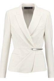 Donna Karan New YorkPeplum stretch wool-blend jacket