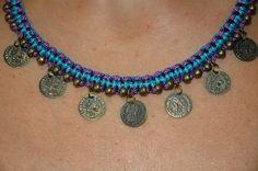 Κολιέ από κερωμένο κορδόνι με μεταλλικα στοιχεία, σε πολλούς συνδιασμούς. Handmade Necklaces, Jewelry, Jewlery, Jewerly, Schmuck, Jewels, Jewelery, Fine Jewelry, Jewel