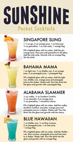 Liquor Drinks, Cocktail Drinks, Cocktail Recipes, Alcoholic Drinks, Holiday Cocktails, Beverages, Refreshing Drinks, Summer Drinks, Fruity Drinks