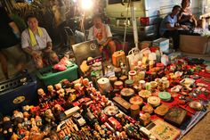Talad Rot Fai night market- Bangkok