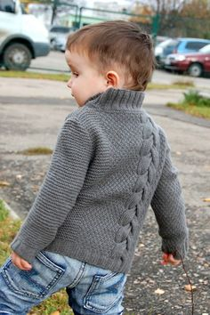 Ravelry: legendasun's Pull – baby sweaters Baby Boy Knitting Patterns, Baby Sweater Patterns, Baby Cardigan Knitting Pattern, Knit Baby Sweaters, Knitted Baby Clothes, Boys Sweaters, Knitting For Kids, Pullover Design, Sweater Design
