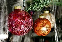 Collectable Hand-Painted Glass, Christmas decorations