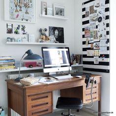 my workspace  Photo: Pernille Kaalund