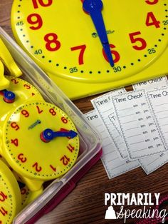 Time Checks are a great way to practice telling time throughout the day! Use these FREE slips to practice telling time using a. Telling Time Activities, Teaching Time, Teaching Math, Math Activities, History Activities, Teaching Ideas, Teaching Tools, Math For Kids, Fun Math