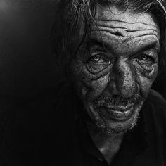 Lee from United Kingdom started taking homeless people photos when he met a young homeless girl in the streets of London. This changed his artistic approach forever. Without having photography background or any training, his photographing skills are amazing.