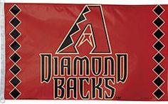 Arizona Diamondbacks 3'x5' Flag