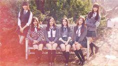 HD wallpaper: Korean Beauty Singers GFriend Photo Wallpaper G-Friend kpop group