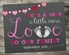 estamos agregando un poquito mas de amor a nuestra familia
