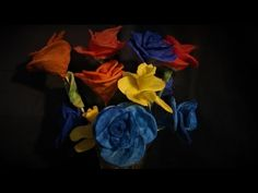 Ideas art for everyone, DIY - Joanna Wajdenfeld: Candlestick flowers with petals