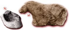 Magdelenian cave art - South West France, - BCE 15 - grease lamp shaped in a roller grani t (Cave Duruthy) Magdalenian VI. Prehistoric Period, Art Pariétal, Paleolithic Art, Early Humans, Mystery Of History, Iron Age, Human Art, Prehistory, Ancient Civilizations