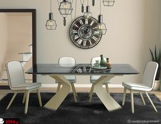 Τραπεζαρία Lucy Decor, Furniture, Sofa, Table, Dinning Table, Home, Dining Room, Home Decor, Room