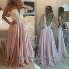 Ball Gowns Wedding Dress, 2016 off shoulder pink chiffon senior prom dress##http://trenddress.colfe.com.ar