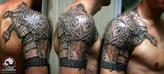 armor tattoo