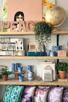 Gather: Coworking/Coffee Shop/Boutique in Cary, NC - space owned & designed by Michelle Smith, photo by Amanda Wright