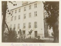 c. 1886 - c. 1896 - Napoleon Bonaparte's geboortehuis in Ajaccio - possibly Henry Pauw van Wieldrecht | Rijksmuseum