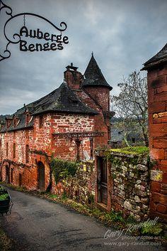 Collonges-la-Rouge, Limousin region, France