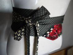 Tuto ceinture  cravate