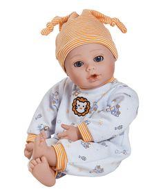 Look what I found on #zulily! Lion Playtime Baby Doll by Adora Dolls #zulilyfinds
