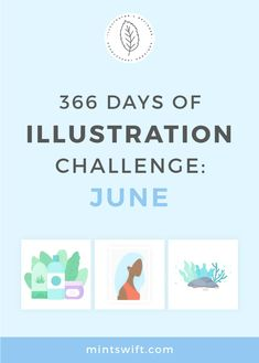 366 Days of Illustration Challenge - June| Vector illustrations in flat design style from the June (day 153-182) from one year of illustration challenge. Illustrations about summer, nautical elements & nature. Click through to see all illustrations at mintswift.com #mintswift by Adrianna Leszczynska #illustration #illustrationchallenge #flatillustration #vectorart #illustrator #flatdesign #vectorillustration #digitalillustration #mintswiftportfolio #mintswiftillustrations Blog Website Design, Web Design Packages, Lifebuoy, Flat Design Illustration, Mini Glass Bottles, Business Checks, Branding Kit, Life Savers, Design Elements