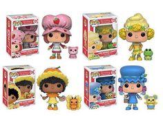 Don't Eat These Scented Strawberry Shortcake Funko Pop Figures Funko Figures, Pop Vinyl Figures, Funko Pop Display, Biscuit, Funko Pop Dolls, Vintage Strawberry Shortcake, Pop Toys, Cupcakes, Retro Toys