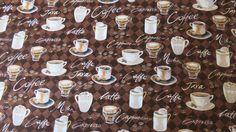Hey, I found this really awesome Etsy listing at https://www.etsy.com/listing/199028860/coffee-fabric-100-cotton
