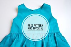 Free Pattern and Tutorial-Simple Girls Dress