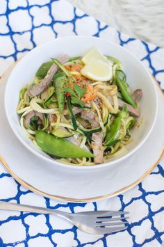 zoodles thai style, get the glow #zoodles #zucchini #courgetti #thai #healthy #soulfood #amigaprincess #recipe #rezept #delicious