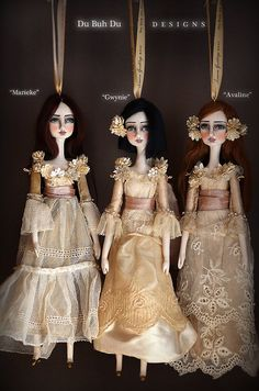 Ornament Dolls~Image © Christine Alvarado, 2011. #ornaments