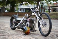 """""""the roach"""" 4 stroke, turbo charged rat bike"""