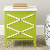 Found it at AllModern - Sherrilyn 2 Drawer End Table