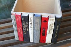 Mountains, Modern Library Storage Bin, Stylish Storage for your much-loved clutter via Etsy