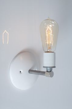 $55   Steel Pipe Industrial Wall Sconce
