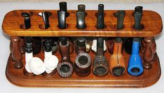 Vintage Tobacco Pipe Collection IV, Tobacciana Items.