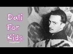 Salvador Dali For Kids - 6 Year Old Sophia Interviews Dali
