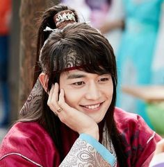 Minho as Soo Ho in Hwarang: The Beginning.