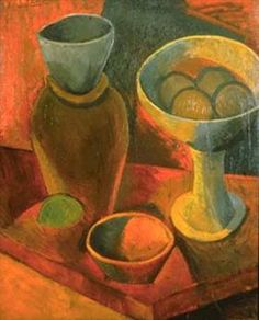 Jug and fruit dish - Pablo Picasso