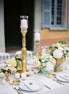 40 decorações para mesas de casamento 2017 incríveis: encontre a sua! Image: 19
