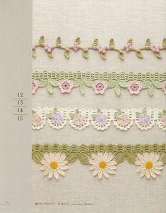 Gallery.ru / Фото #13 - Crochet edging & braid - accessories