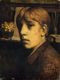 The Athenaeum - Self Portrait (Georges Lemmen - )