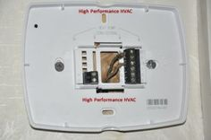 10 Best Thermostats images | New thermostat, Home thermostat ... Wiring A Home Thermostat on