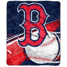 Boston Red Sox 50'' x 60'' Big Stick Sherpa Throw Blanket - $32.99