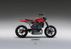 KTM Duke Street Tracker design ClassicCo - by JMKL #motorcycles #streettracker #motos   caferacerpasion.com