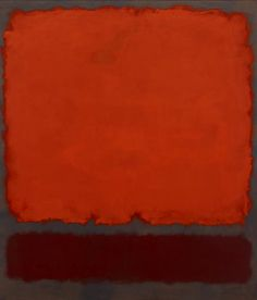 Mark Rothko, Orange, Red and Red