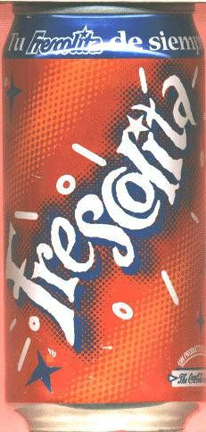 Frescolita from Venezuela. Coca-Cola has fans from Boston to Budapest to Bahrain, drinking brands such as Ambasa, Vegitabeta and Frescolita. In the remotest comers of the globe, you can still find Coca-Cola.