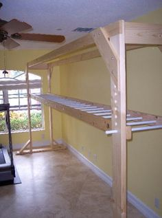 How To Build A Brachiation Ladder Monkey Bars Video - Build monkey bars ladder