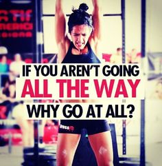 I agree but disagree I'm happy you are doing something but push yourself to the next limit!!