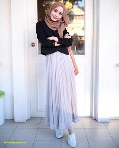 Best Of Hijab Casual Outfits Modern Hijab Fashion, Street Hijab Fashion, Hijab Fashion Inspiration, Islamic Fashion, Muslim Fashion, Modest Fashion, Fashion Outfits, Womens Fashion, Trendy Fashion